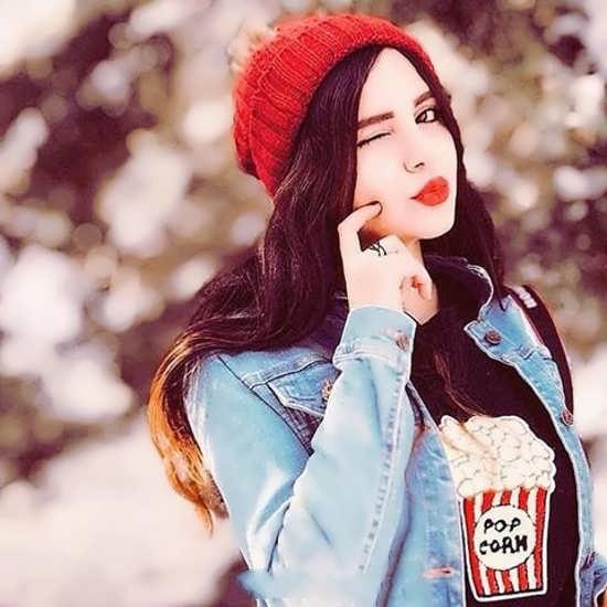 تصویر پروفایل جالب و زیبا دخترانه