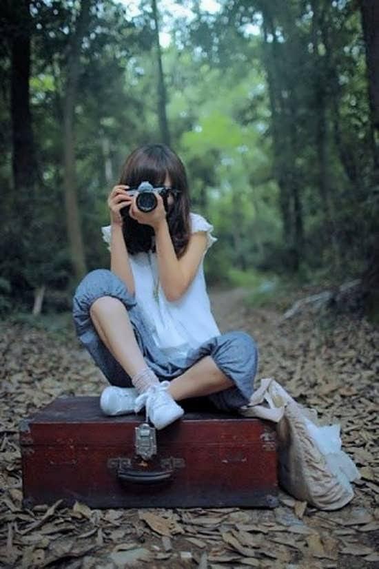 عکس دختر در طبیعت برای پروفایل
