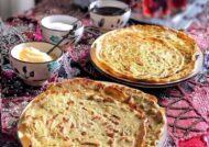 طرز تهیه نان چزنک نوعی نان محلی لذیذ و خوش طعم