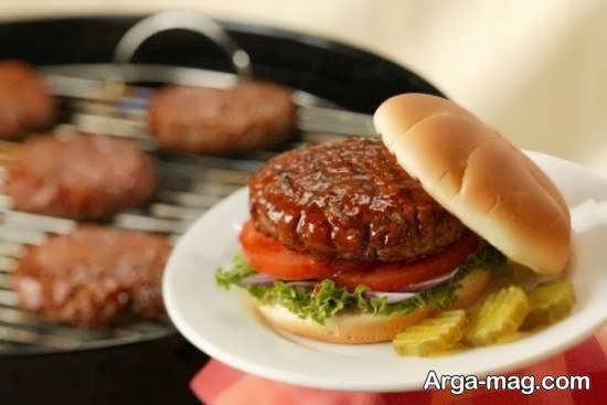 طرز تهیه همبرگر بادمجان با طعمی عالی و بینظیر