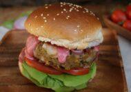 آموزش طرز تهیه همبرگر بادمجان با طعمی استثنایی