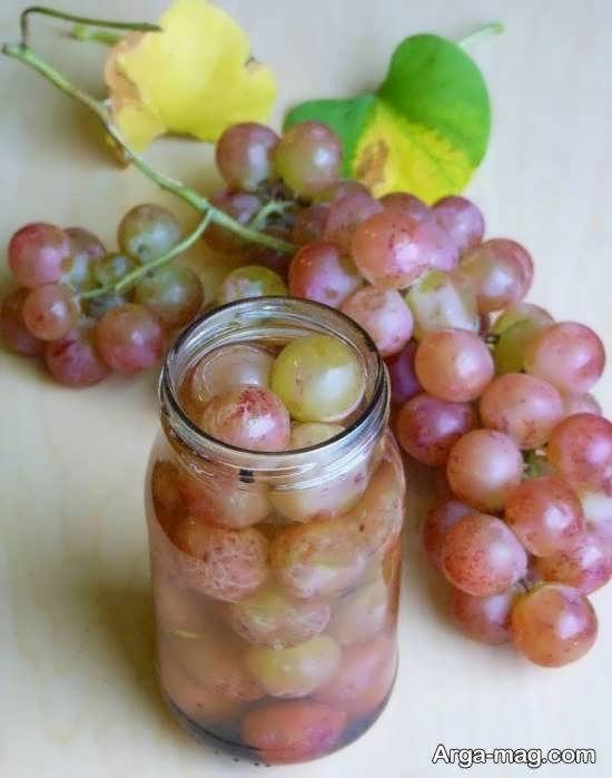 طرز تهیه ترشی انگور با طعمی عالی و بینظیر