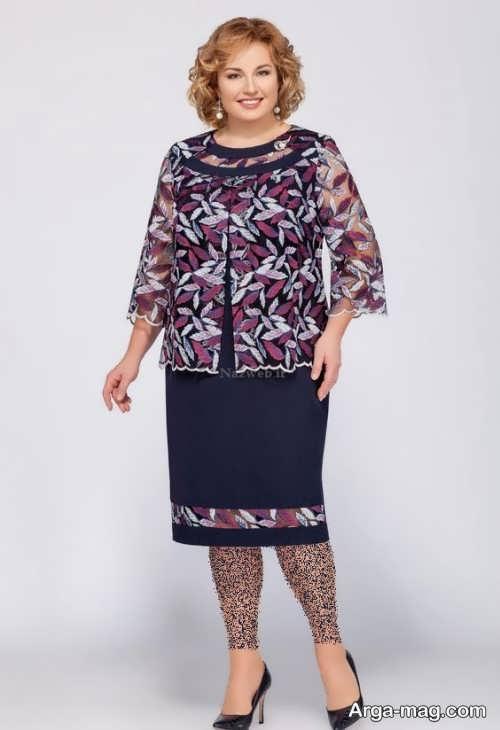 لباس مجلسی برای مادر بزرگ