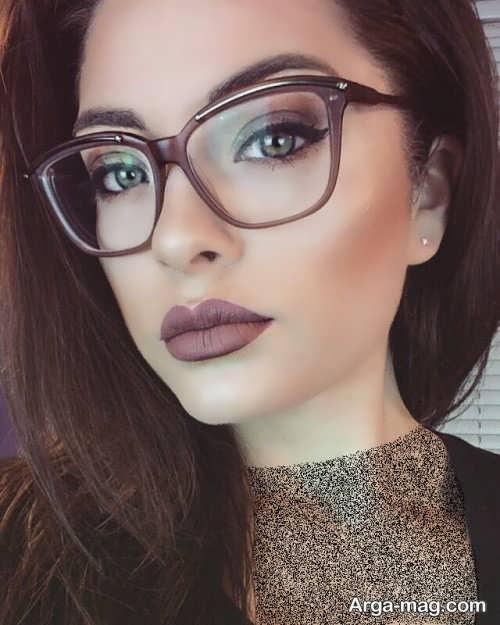 آرایش برای خانم های عینک دار