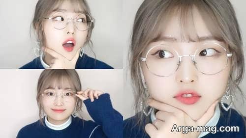 آرایش برای دختران عینکی