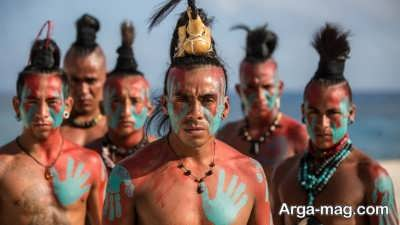 آشنایی با افراد قبیله مایا