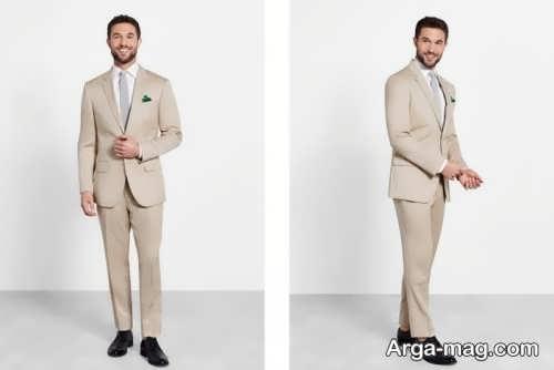 کت و شلوار مردانه رنگ روشن و جذاب