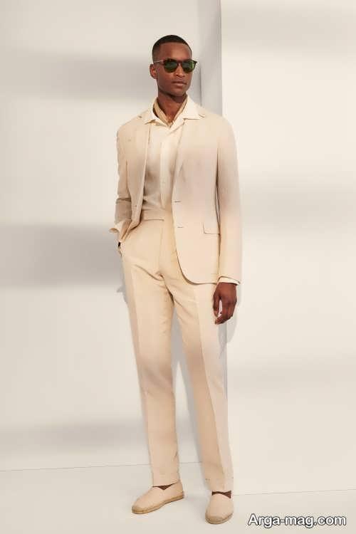 کت شلوار مردانه رنگ روشن