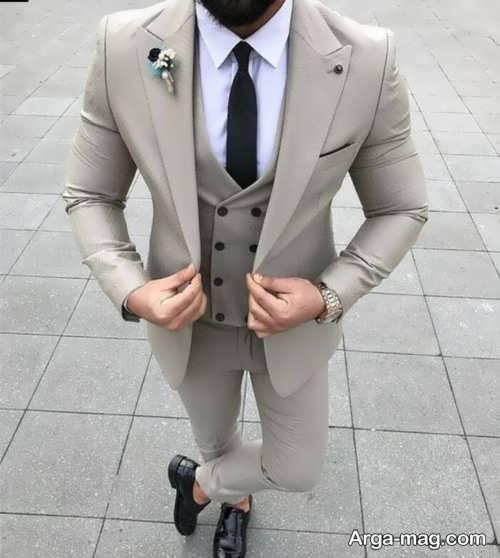 کت شلوار جدید مردانه