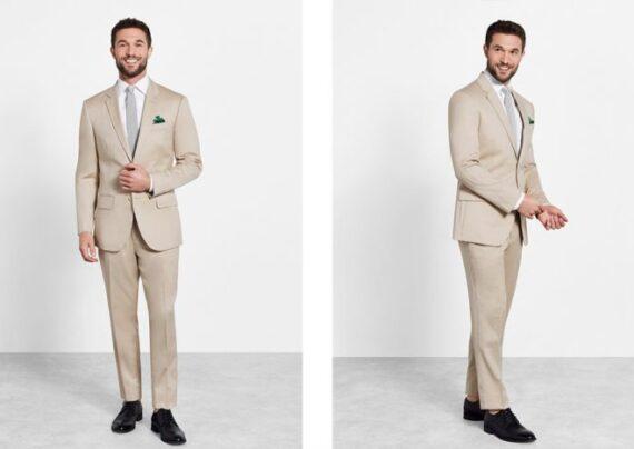 کت و شلوار مردانه رنگ روشن