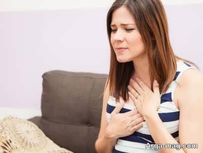 بروز سوء هاضمه در حاملگی