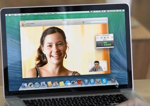 ضبط فیلم در اسکایپ