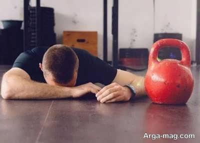 برطرف کردن خستگی در ورزش
