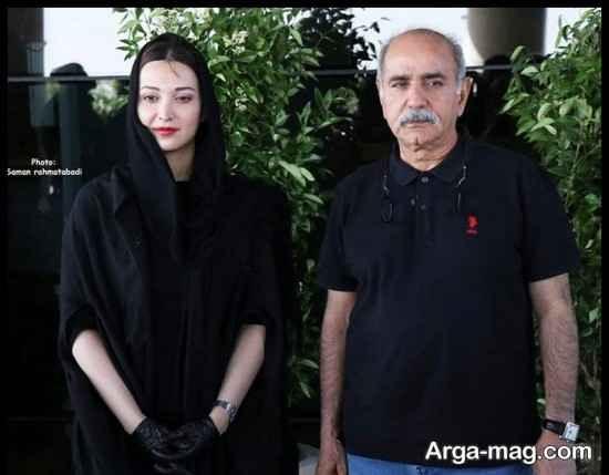عکس های روشنک گرامی در مراسم تجلیل از بازیگران هم گناه