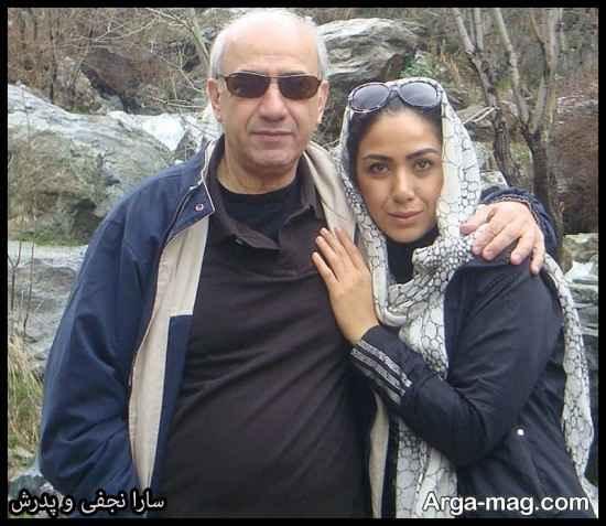 """عکس های سارا نجفی بازیگر مجموعه """"دل"""""""