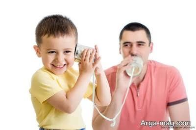 تقویت گفتار در کودکان