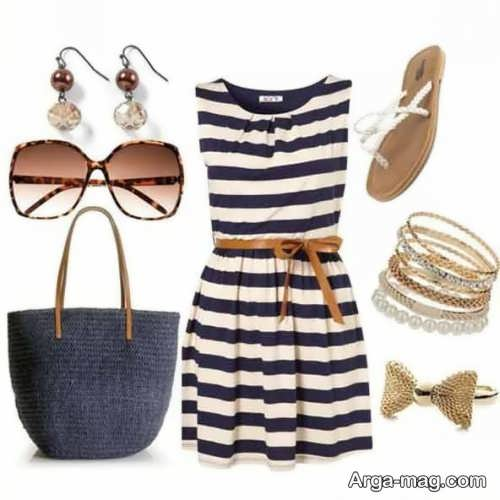 لباس زیبا تابستانه