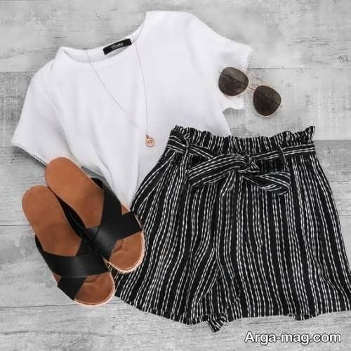 مدل لباس تابستانی شیک