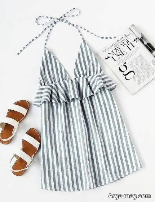 لباس زیبا و طرح دار تابستانه