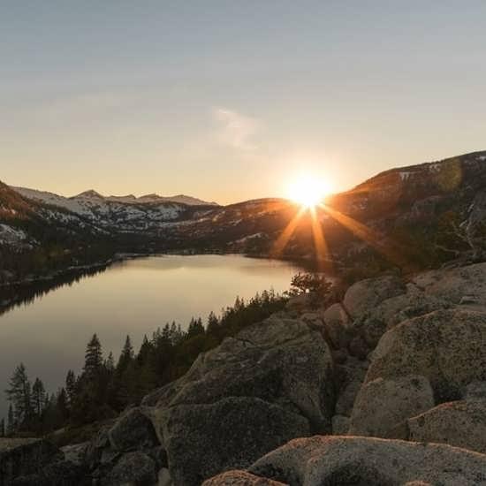 عکس پروفایل طلوع خورشید بسیار احساسی و رمانتیک