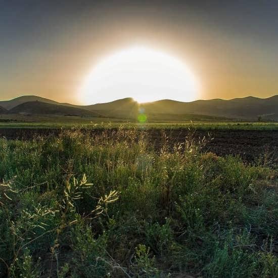 تصویر پروفایل باحال و زیبا از طلوع خورشید