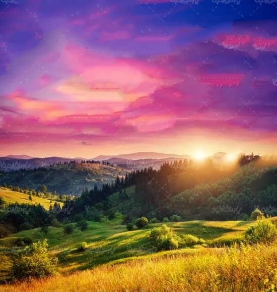 انواع جدید عکس پروفایل طلوع خورشید