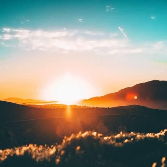انواع عکس پروفایل طلوع خورشید