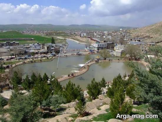 آشنایی با دیدنی های شهرستان جوانرود در کرمانشاه