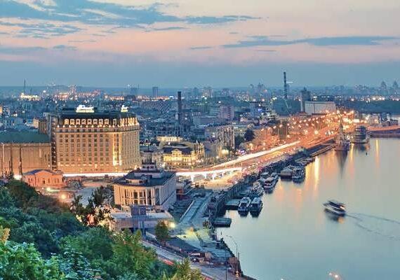 سفر به کیف اوکراین پایتخت این کشور و مرکز آن