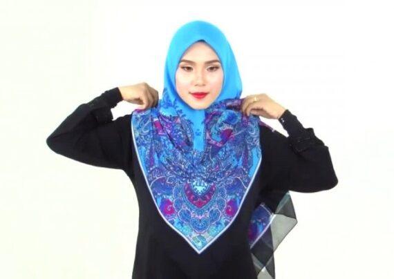 بستن روسری با حجاب