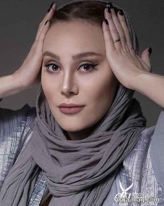 آرام جعفری مدل آرایشی سالن زیبایی!