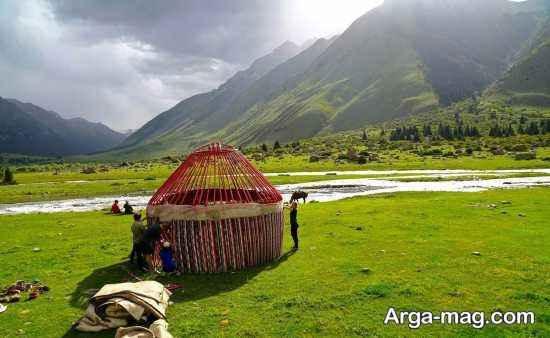 دیدنی های قرقیزستان