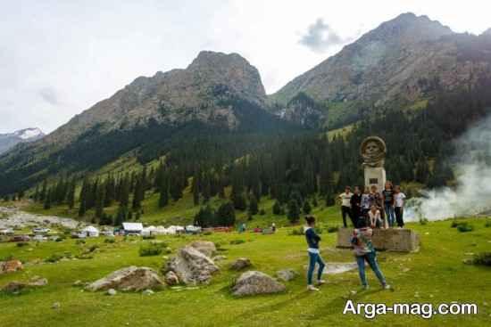 کوه های قرقیزستان