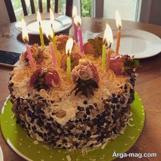 جشن تولد هانیه توسلی در روزهای کرونایی!