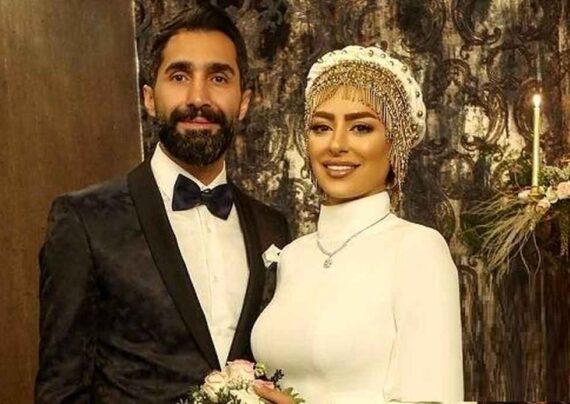 ست زیبای سمانه پاکدل و همسرش در نمایشگاه عکس هادی کاظمی