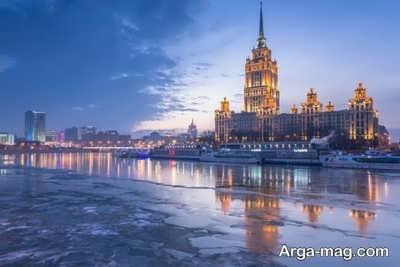 مسکو پایتخت روسیه است
