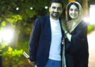 عکس های امین زندگانی و همسرش الیکا عبدالرزاقی در دورهمی