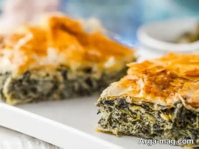 معرفی غذای پای یونانی