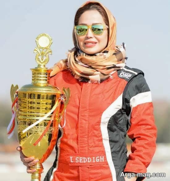 زندگینامه لاله صدیق راننده مسابقات رالی حرفه ای