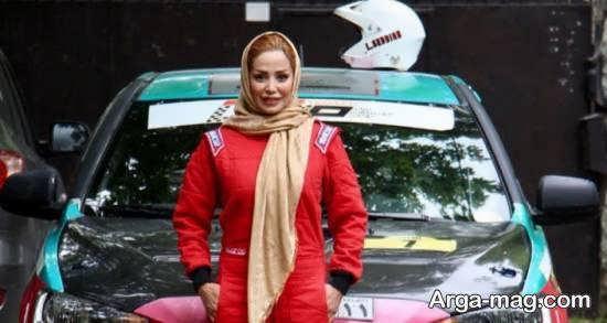 زندگینامه لاله صدیق اولین اتومبیلران زن رالی ایرانی