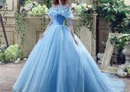 مدل لباس عروس آبی