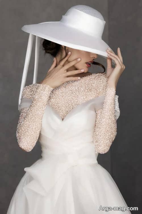 کلاه زیبا مخصوص عروس