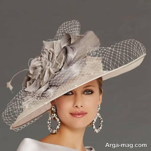 کلاه زیبا عروس