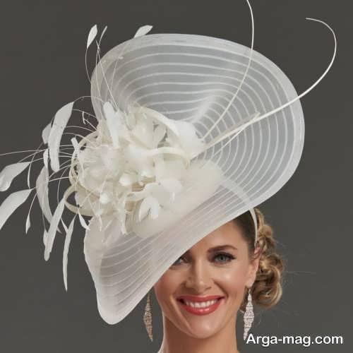 کلاه توری عروس