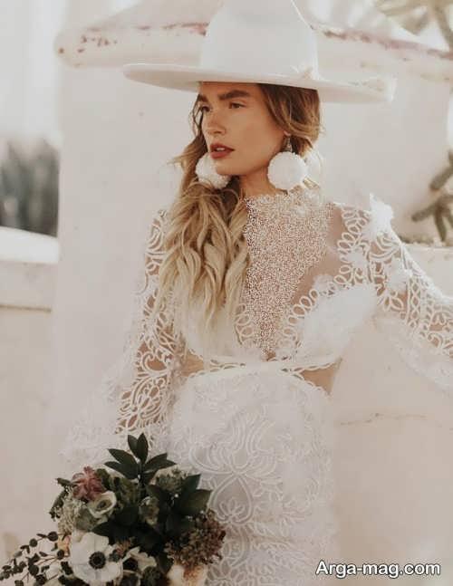 کلاه جدید برای عروس