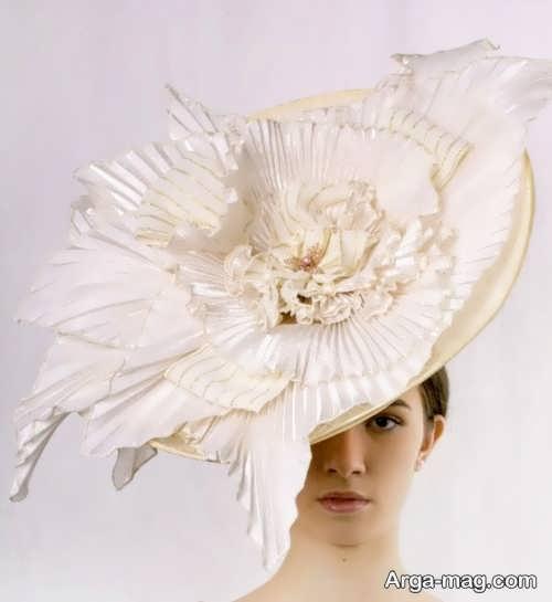کلاه شیک و خاص برای عروس