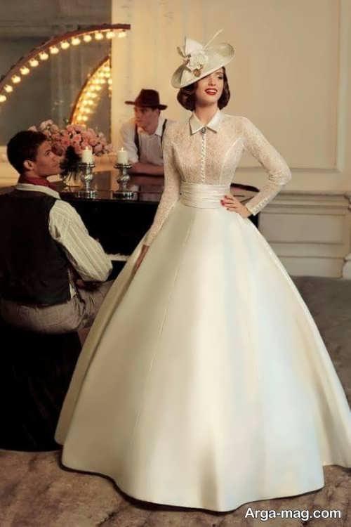 کلاه ساده برای عروس