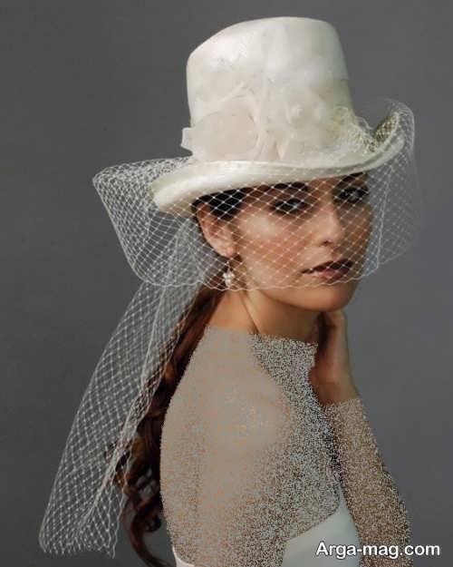 کلاه شیک برای عروس