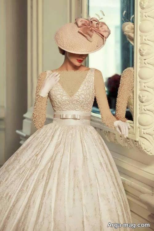 کلاه زیبا برای عروس