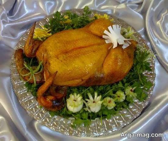 نمونه هایی از دورچین مرغ به شکلی زیبا